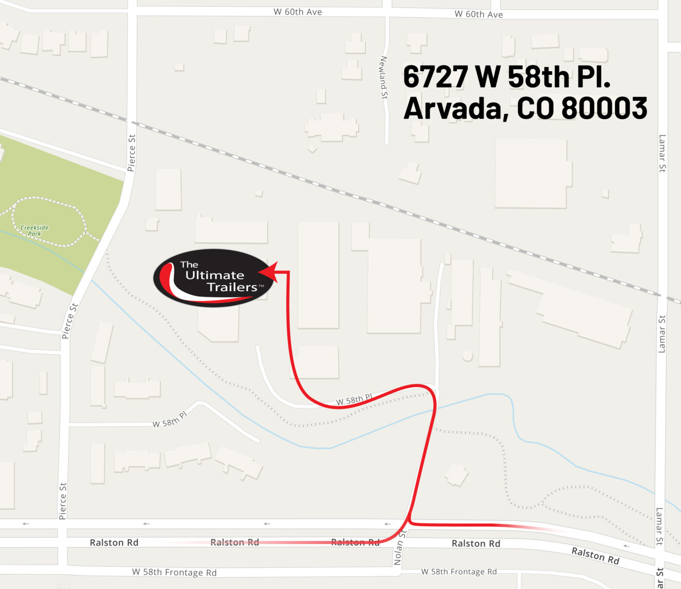 the ultimate trailers arvada co map address